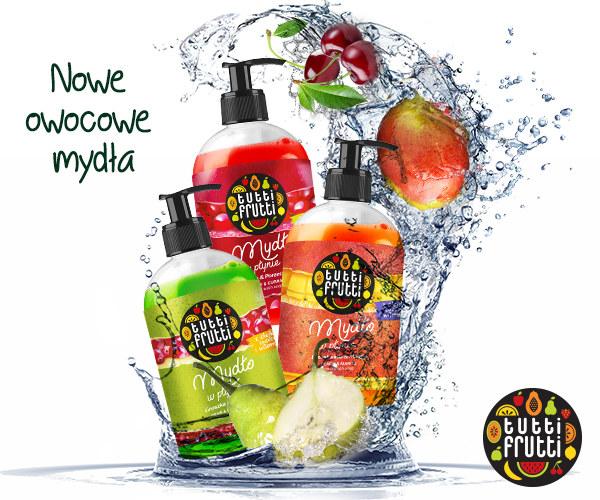 Mydła Tutti Frutti /materiały prasowe