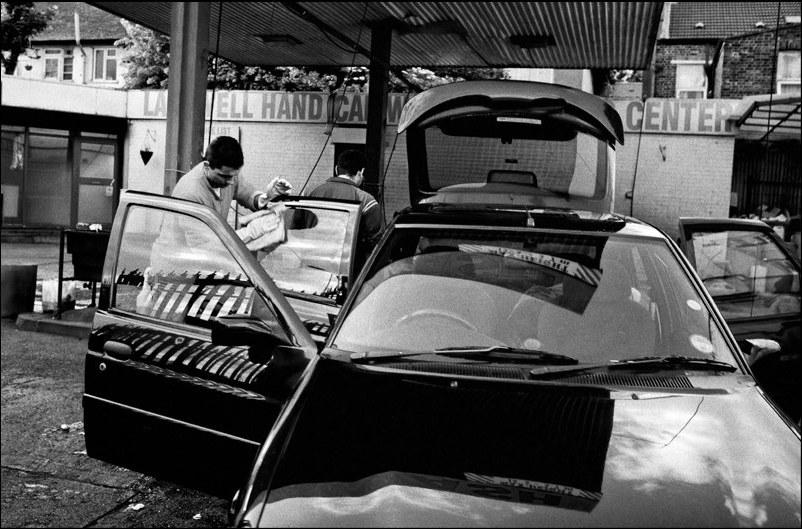 Myjnia samochodowa /Bogdan Frymorgen /RMF FM