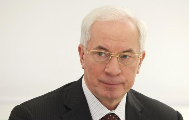 Mykoła Azarow, premier Ukrainy /AFP