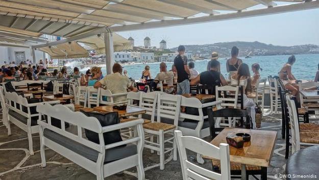 Mykonos stała się wyspą celebrytów /fot. DW/D.Simeonidis /Deutsche Welle