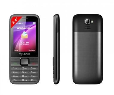 myPhone 6200 - telefon za mniej niż 100 złotych w Biedronce