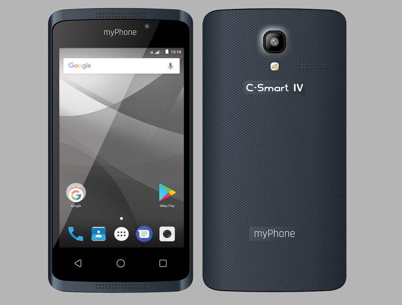 myPhone C-Smart IV /materiały prasowe