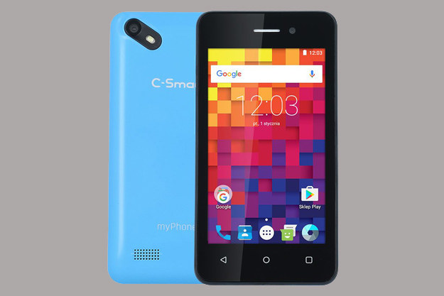 myPhone C-Smart Pix /materiały prasowe