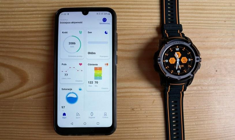 MyPhone Now Esim i Hammer Watch /INTERIA.PL