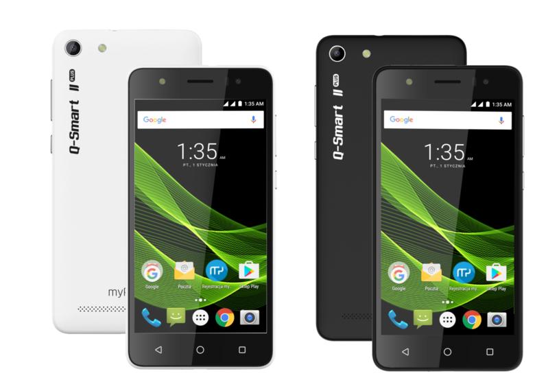 myPhone Q-Smart II PLUS /materiały prasowe