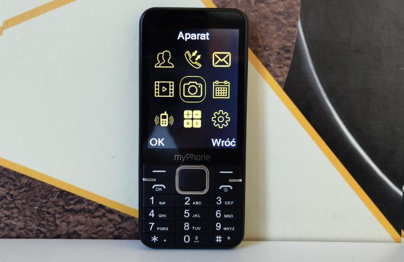 myPhone Up  - meny główne /INTERIA.PL