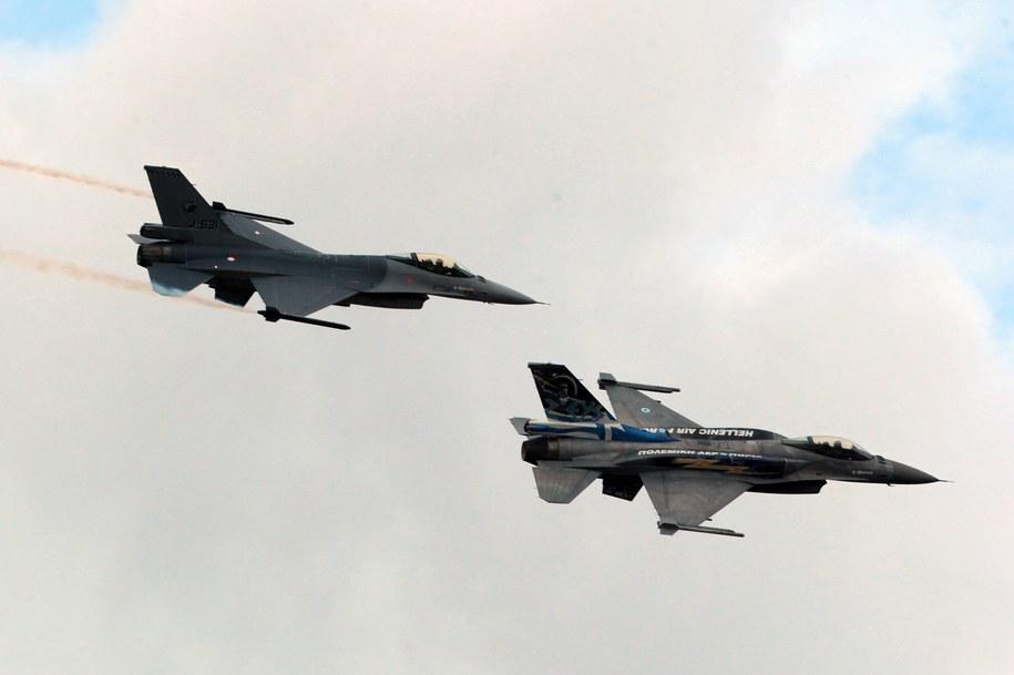 Myśliwce F-16 (zdj. ilustracyjne) / ANA-MPA    /PAP/EPA