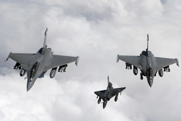 Myśliwce Rafale należące do francuskiej marynarki wojennej /AFP