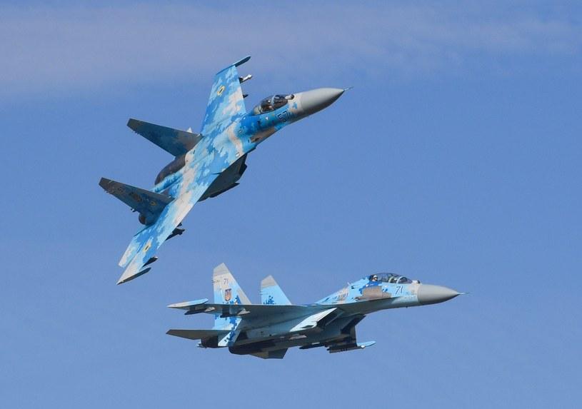 Myśliwce Su-27; Zdj. ilustracyjne /Nikolay Lazarenko/SPUTNIK Russia /East News