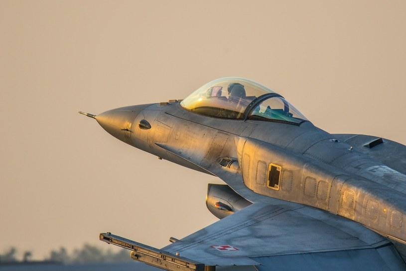Myśliwiec F-16 /Michal Adamowski/REPORTER /Reporter