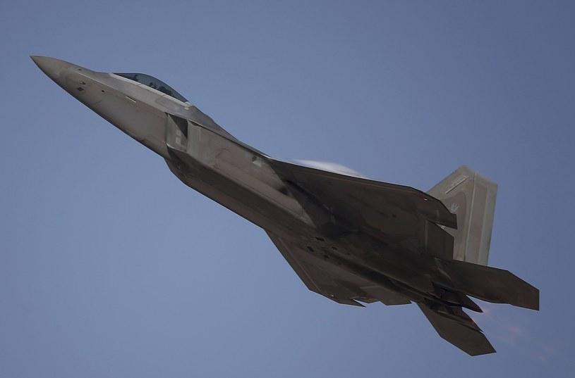 Myśliwiec F-22 /AP /East News