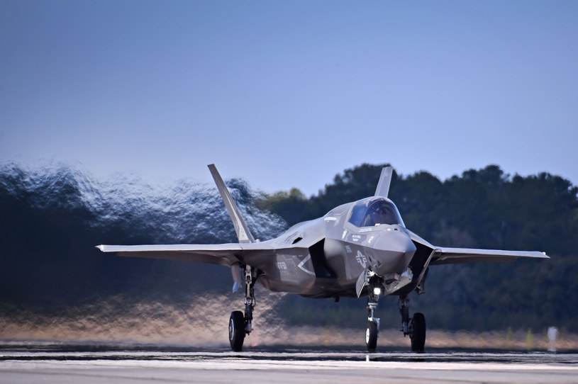 Myśliwiec F-35 /Jeff J Mitchell/AFP /East News