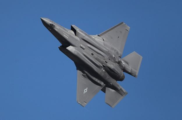 Myśliwiec F-35A. Fot. George Frey /Getty Images/Flash Press Media