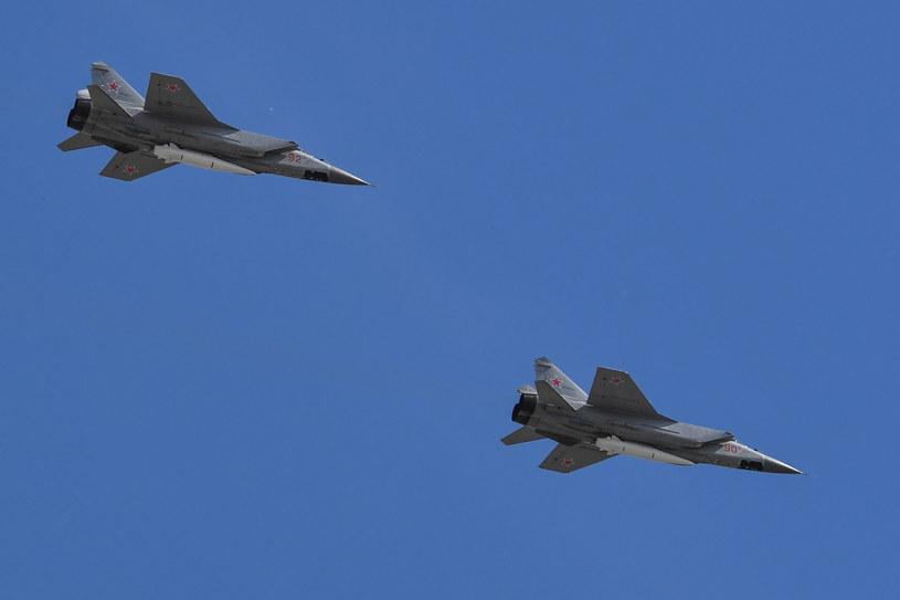 Myśliwiec MiG 31K. Zdjęcie ilustracyjne /Yuri Kadobnov /AFP