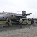 Myśliwiec na... krakowskich ulicach