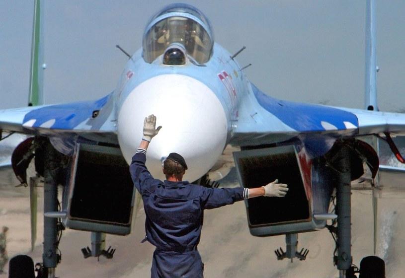 Myśliwiec Su-27/ RIA Novosti /Rudnev Ivan /East News