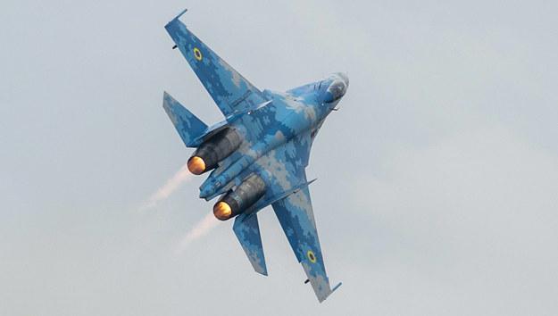 Katastrofa Su-27 na Ukrainie. Nie żyje pilot