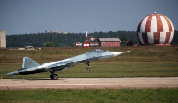 Myśliwiec T-50 /AFP