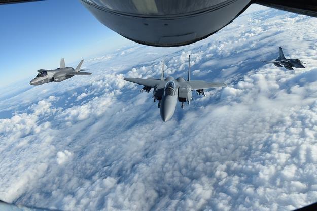 Myśliwiec wielozadaniowy F-35. Fot. Sipa USA /Agencja SE/East News
