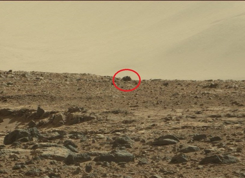"""Mysz"" na Marsie /NASA"