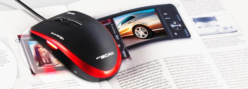 Mysz skanująca MyScan /materiały prasowe