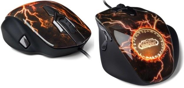 Myszka firmy SteelSeries z edycji World of Warcraft MMO Legendary Edition /Informacja prasowa