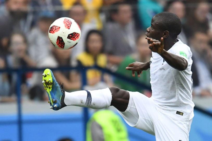 N'Golo Kante w akcji /AFP