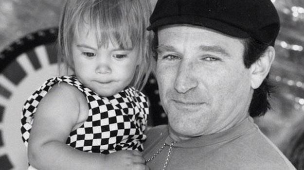 Na 25. urodziny córki Robin Williams umieścił to zdjęcie w serwisie Instagram. /