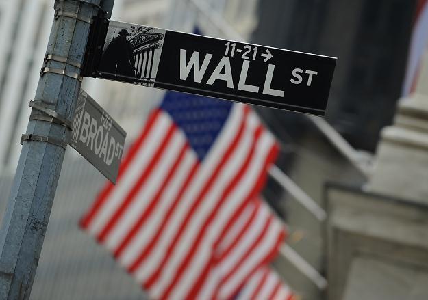 Na amerykańskich giełdach spadały indeksy /AFP