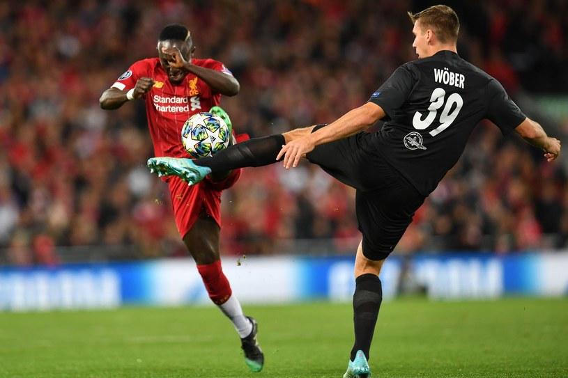 Na Anfield Road Liverpool wygrał z Salzburgiem 4-3 /AFP