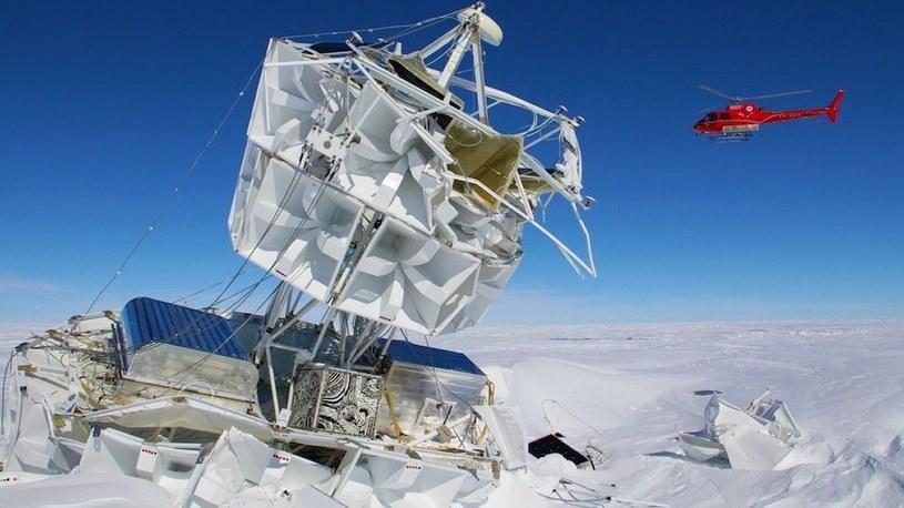 Na Antarktydzie zarejestrowano sygnały, które wstrząsną współczesną fizyką /Geekweek