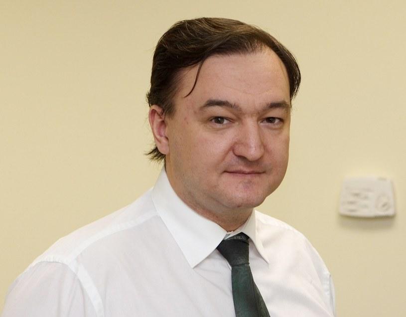 Na archiwalnym zdjęciu Siergiej Magnitski /AFP