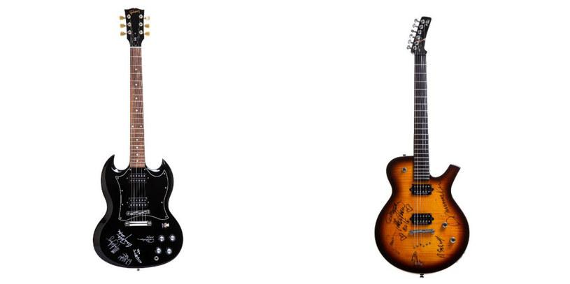 Na aukcji będzie można kupić m.in. gitary z podpisami członków zespołu AC/DC oraz Perfect /materiały prasowe