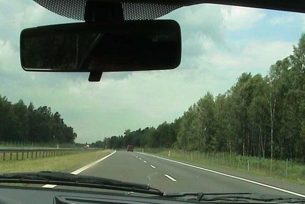 Na autostradzie nie zawsze jest tak pusto / Kliknij /INTERIA.PL