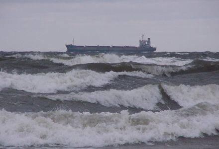 Na Bałtyku szaleje potężny sztorm /RMF