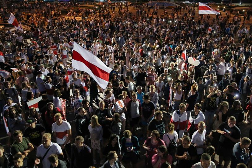 Na Białorusi nie ustają protesty po wyborach prezydenckich / STR   /PAP/EPA