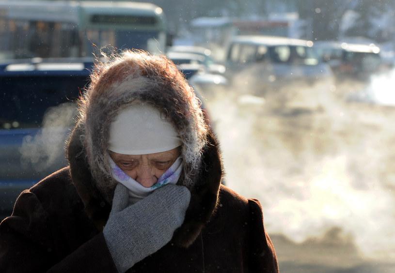 Na Białorusi ścisnął ostry mróz /AFP