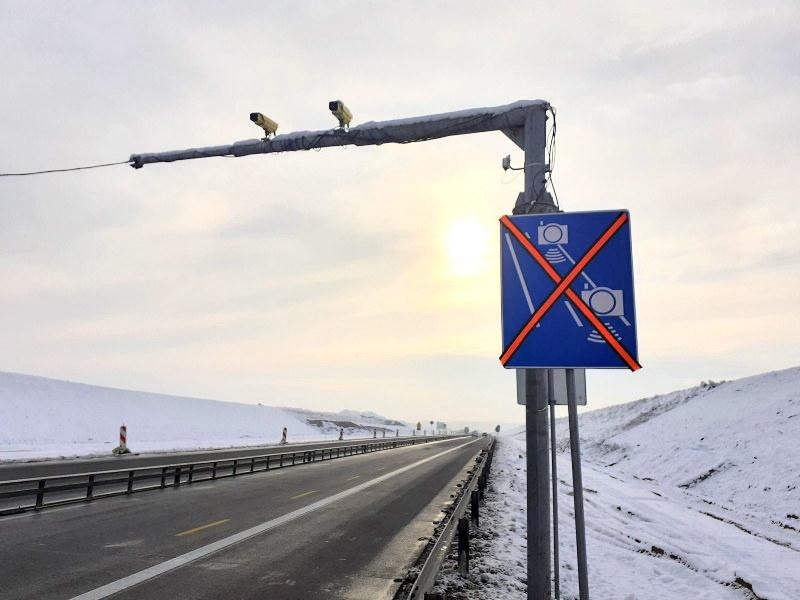 Na budowanym odcinku A1 działa bardzo długi odcinkowy pomiar prędkości /GDDKiA
