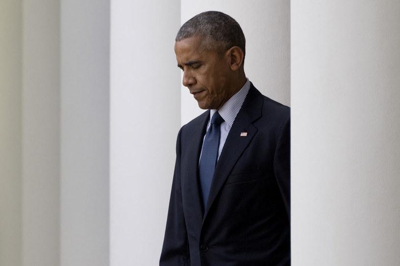 Na cenzurowanym jest uporczywa niechęć Baracka Obamy do militarnego zaangażowania w Syrii /AFP