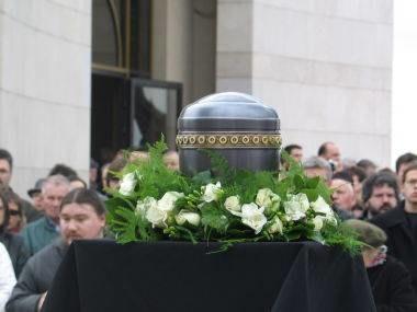 Na Cmentarzu Salwatorskim w Krakowie odbył się pogrzeb Stanisława Lema /RMF