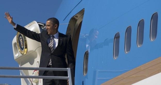 Na co dzień Prezydent USA podrożuje Air Force One /AFP