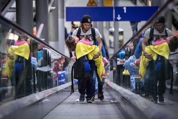 Na co w Polsce może liczyć uchodźca? fot. Maja Hitji /PAP/EPA