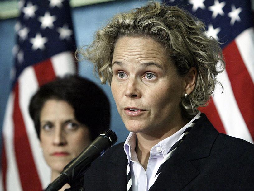 """Na czele """"Dziewczyn z New Jersey"""" początkowo stanęła Kristen Breitweiser /Getty Images"""