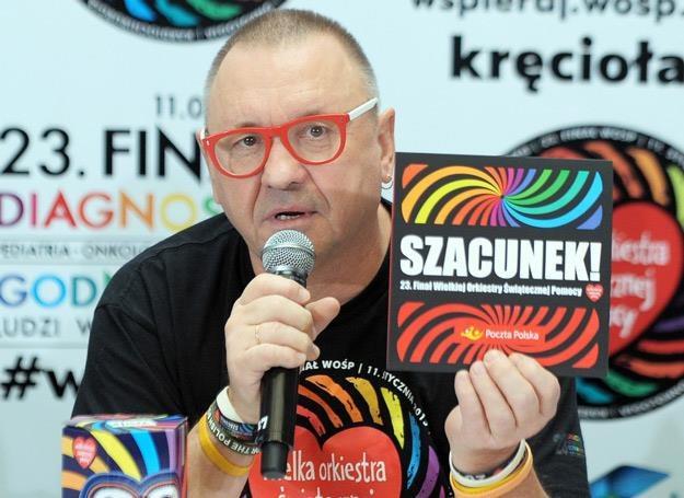 Na czele Wielkiej Orkiestry Świątecznej Pomocy stoi Jurek Owsiak - fot. Jan Bielecki /East News