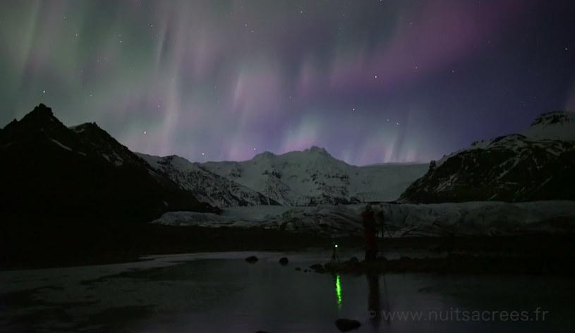 Na czym polega fenomem migotającej zorzy polarnej? /materiały prasowe