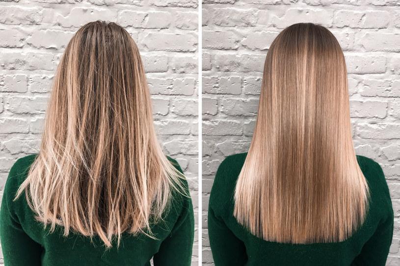 Na czym polega keratynowe prostowanie włosów? /©123RF/PICSEL
