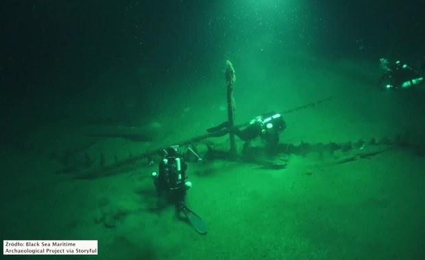 Na dnie Morza Czarnego odkryto wrak statku sprzed 2400 lat