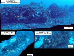 Na dnie Morza Śródziemnego odnaleziono tajemniczy monolit