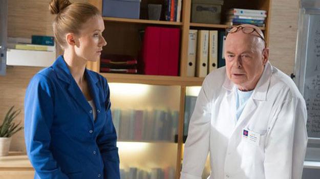 """""""Na dobre i na złe"""": Czy lekarka będzie na nowym stanowisku naprawdę szczęśliwa? /www.nadobre.tvp.pl/"""
