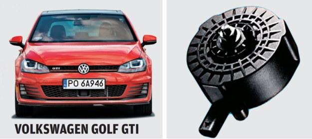 Na dodatkowe podrasowanie dźwięku silnika zdecydowano się nawet w tak legendarnym modelu jak Golf GTI. /Motor